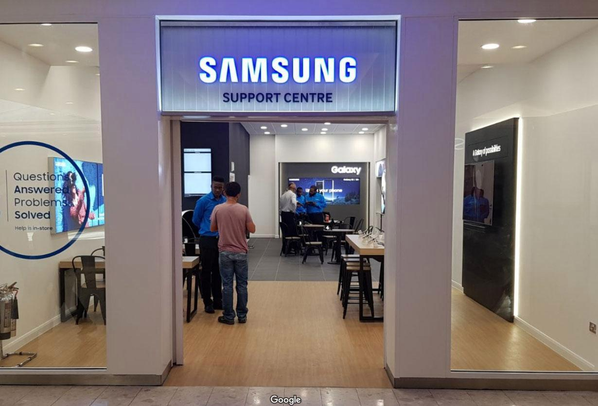 Samsung UK - How to Reach Customer Service